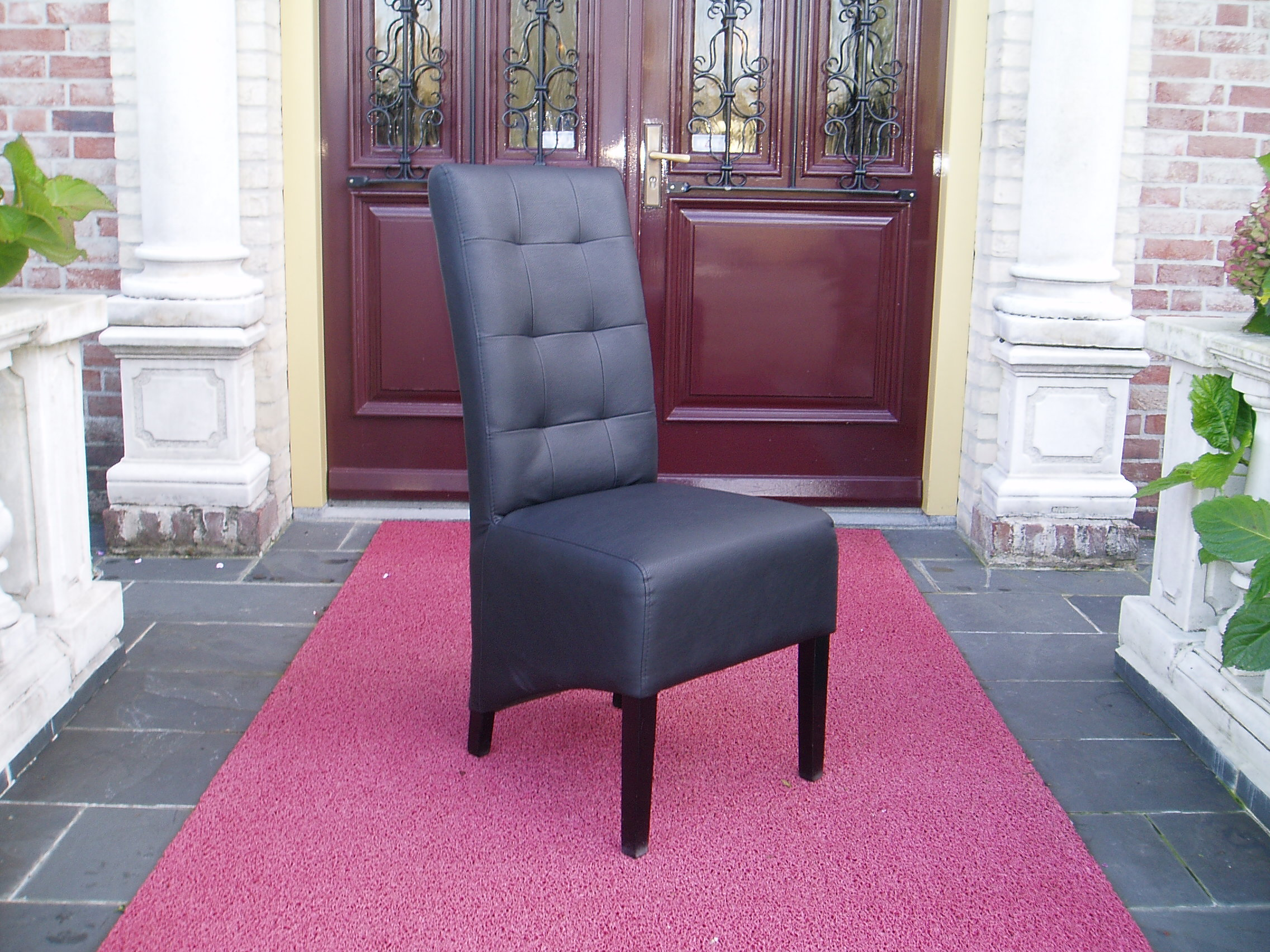 Eetkamerstoelen Lisa Leather Look 9010