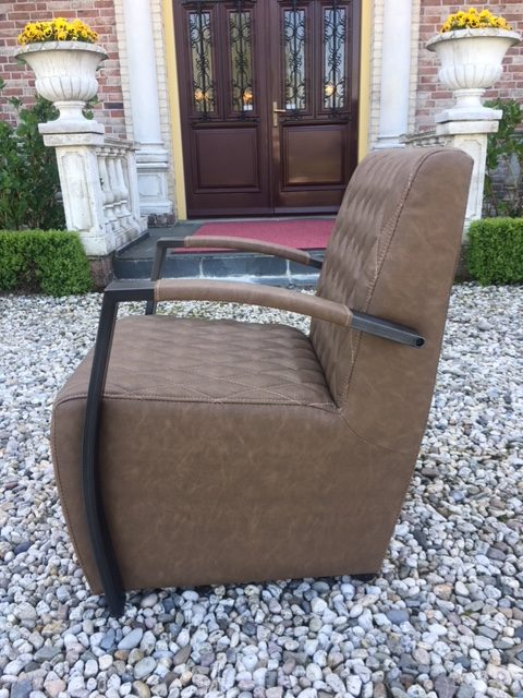 Coffee-chair Max Leer Vintage Brown
