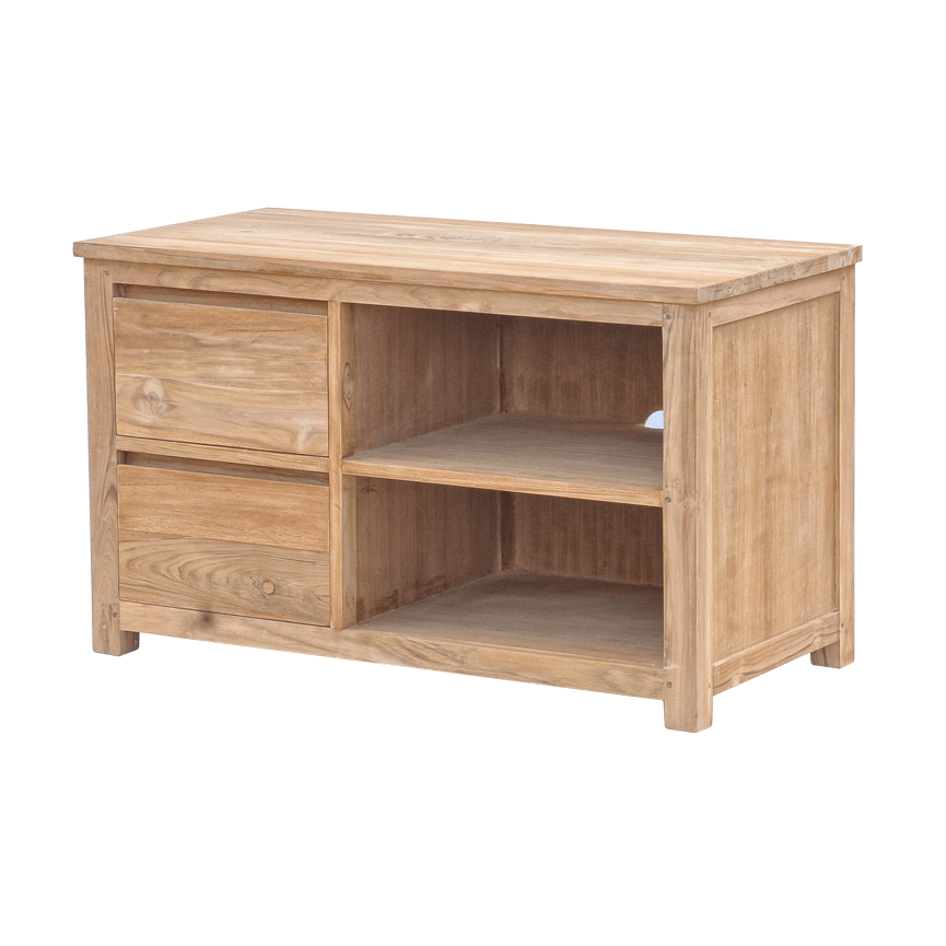 Leeds Tv Meubel Teak Natural 100cm